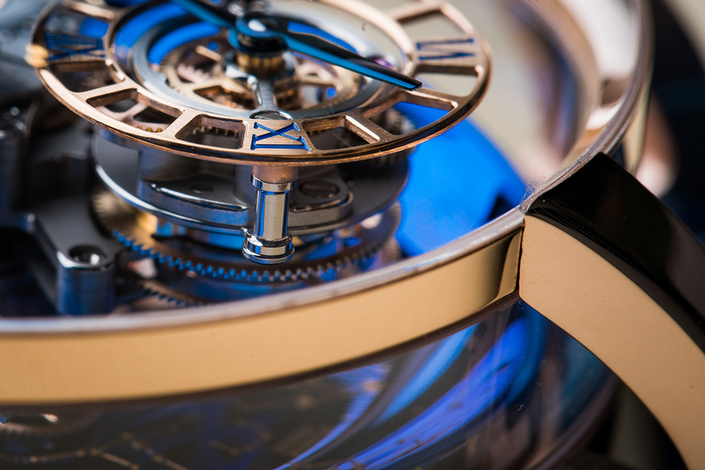 The Jacob & Co. Astronomia Sky has presented the highest level of watchmaking craftsmanship.