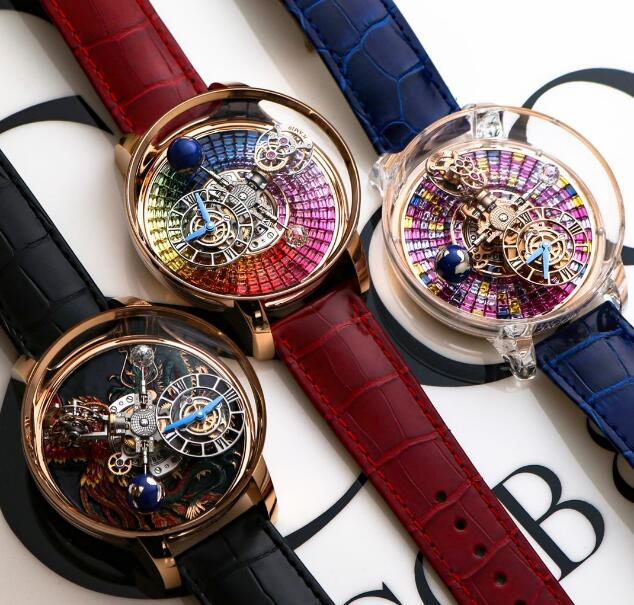 The watches have presented the high level of craftsmanship of watchmaking.