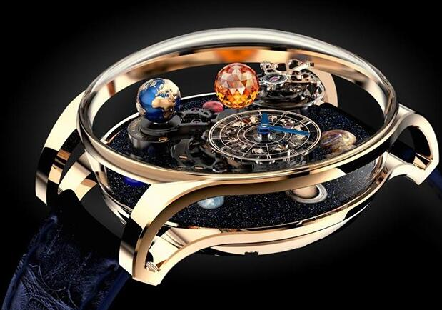 The timepiece could display the complete view of the eight planets.