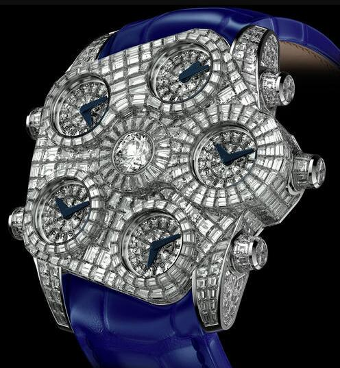 Forever knock-off watches are distinctive with blue color.