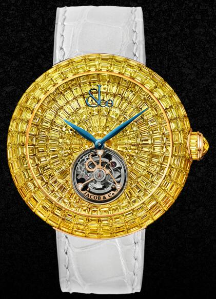 Swiss imitation watches online are precious in gold.