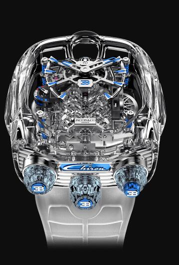 Swiss replica watches are noble with sapphire crystal.