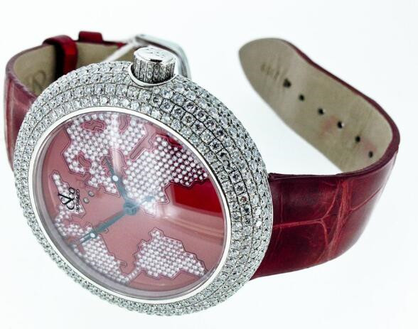 Top fake Jacob & Co. watches are composed of diamonds and stainless steel.