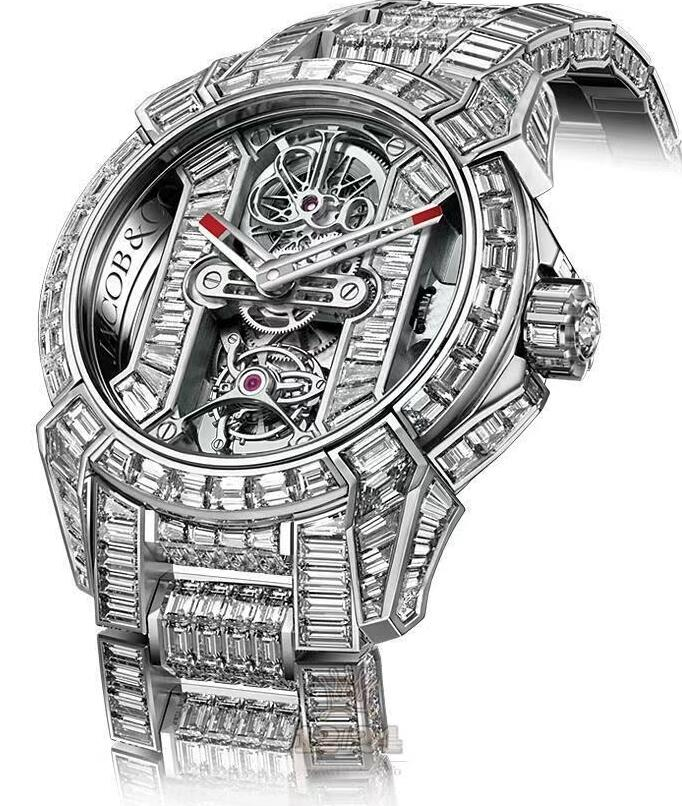Swiss replica watches are high-end for the hollow structure.