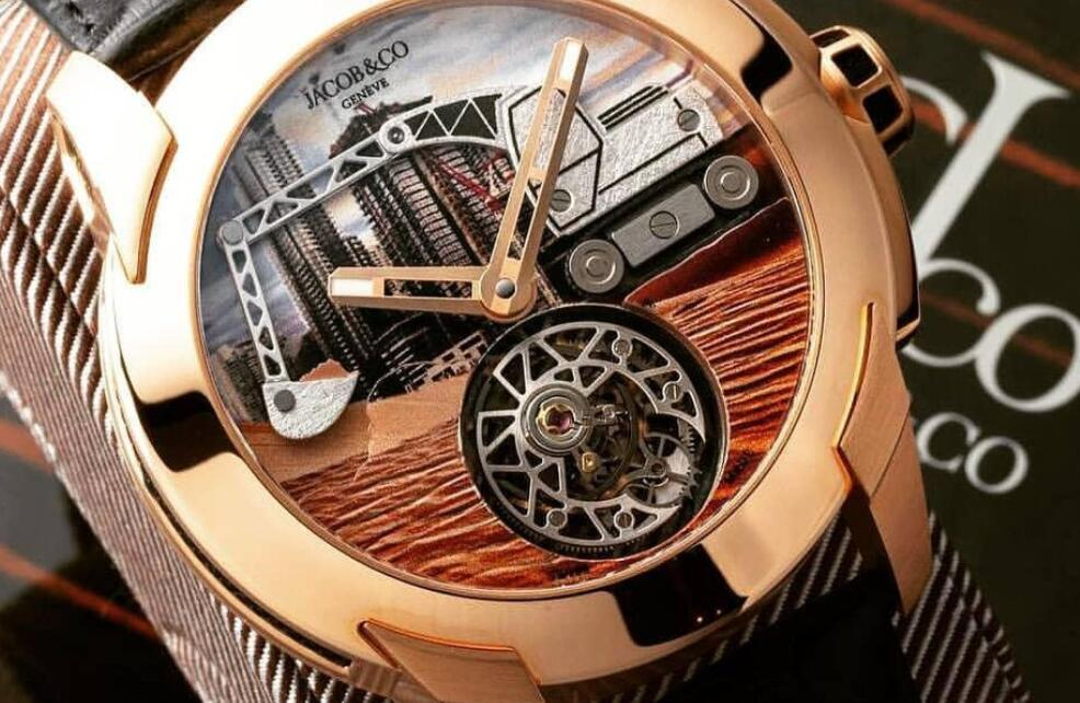 Online fake watches are prominent with the tourbillon layout.
