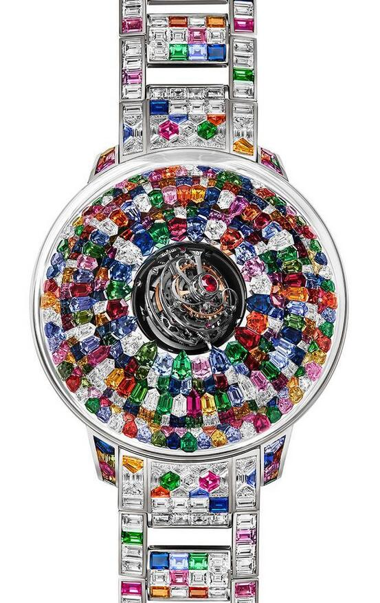 Swiss replica watches demonstrate the dazzling luster with various colors.